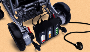 how to charge a dead wheelchair battery