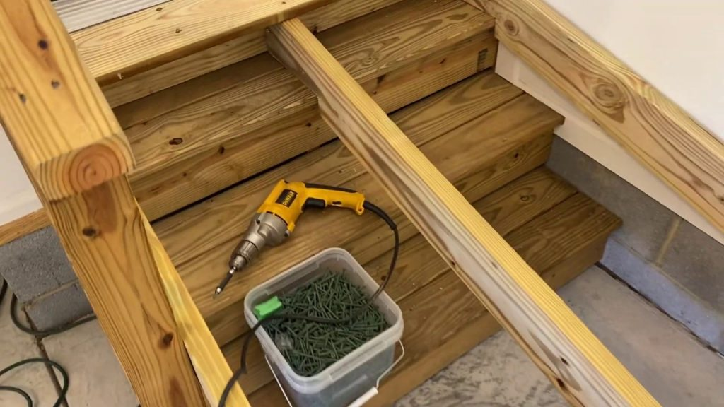 how to build a wheelchair ramp over steps